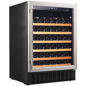 46 Bottle Single Zone Convertible Wine Cooler by Smith & Hanks