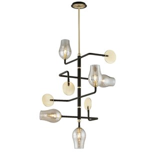 Wade Logan Devyn 5-Light Sputnik Chandelier