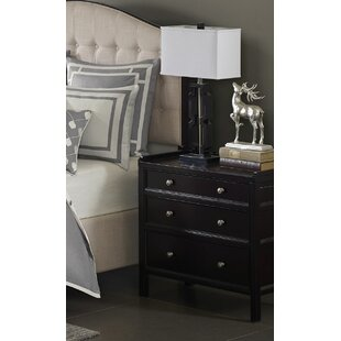 Madison Park Signature Madison 3 Drawer Nightstand