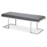 Sherer Metal Bench by Orren Ellis