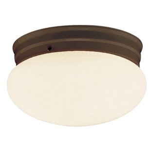 Ebern Designs Brooklyn 1-Light Flush Mount