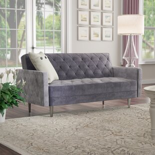 Read Reviews Daughtrey Convertible Loveseat by Darby Home Co Reviews (2019) & Buyer's Guide
