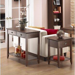 Clarita 2 Piece Coffee Table Set