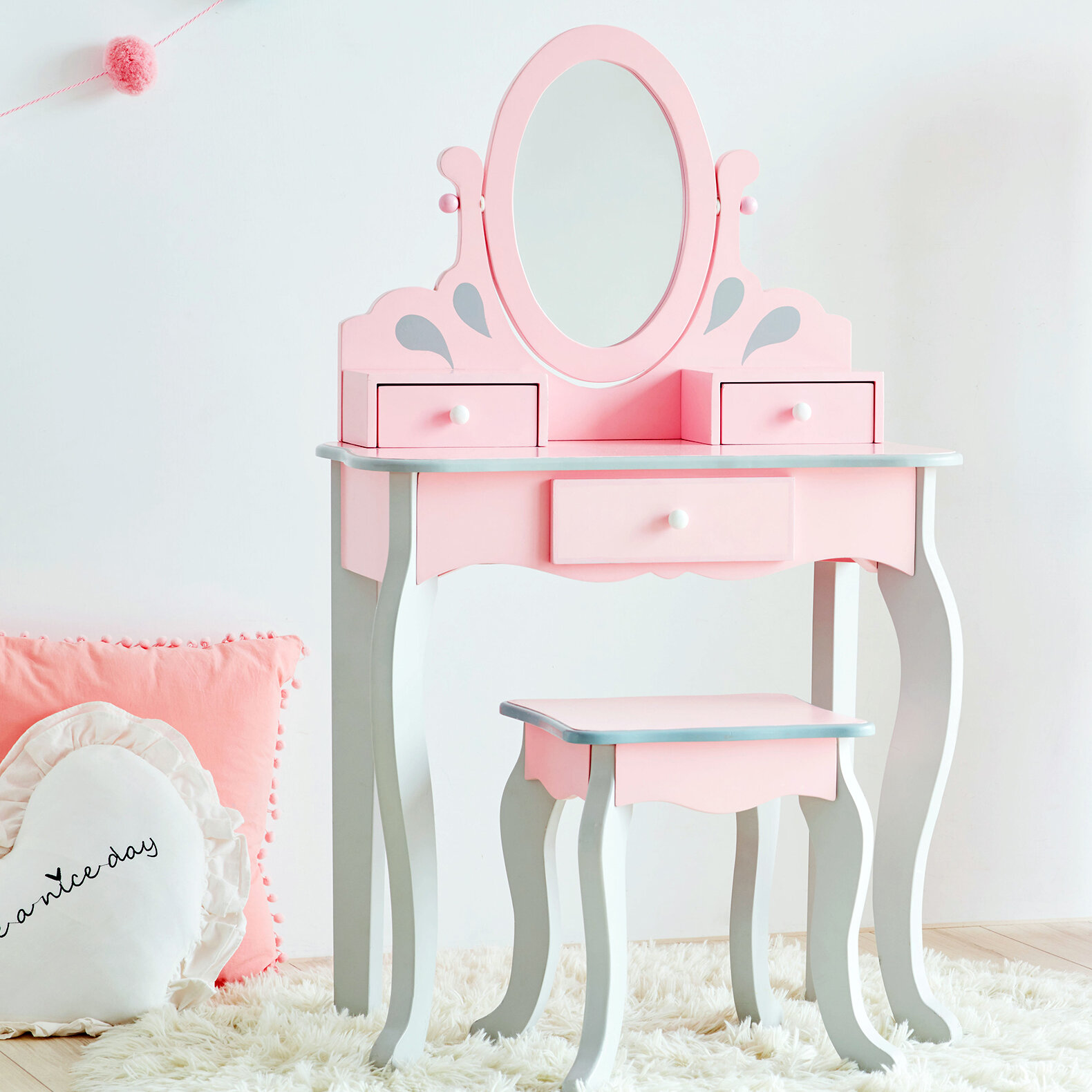 Princess Themed Kids Bedroom Vanities You Ll Love In 2021 Wayfair Ca