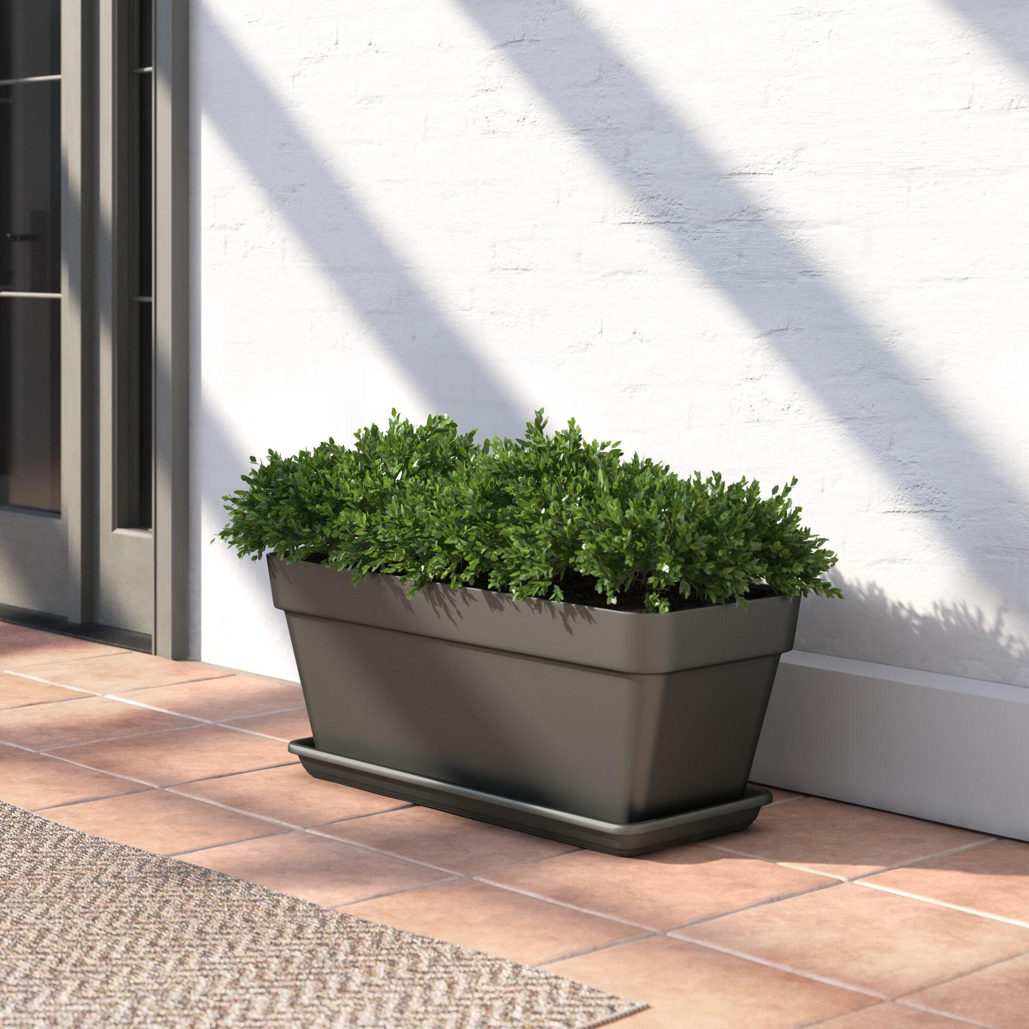 Quadrello Modern Resin Pot Planter Joss Main