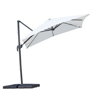 Holbeach 8' Square Cantilever Umbrella by Freeport Park Fresh