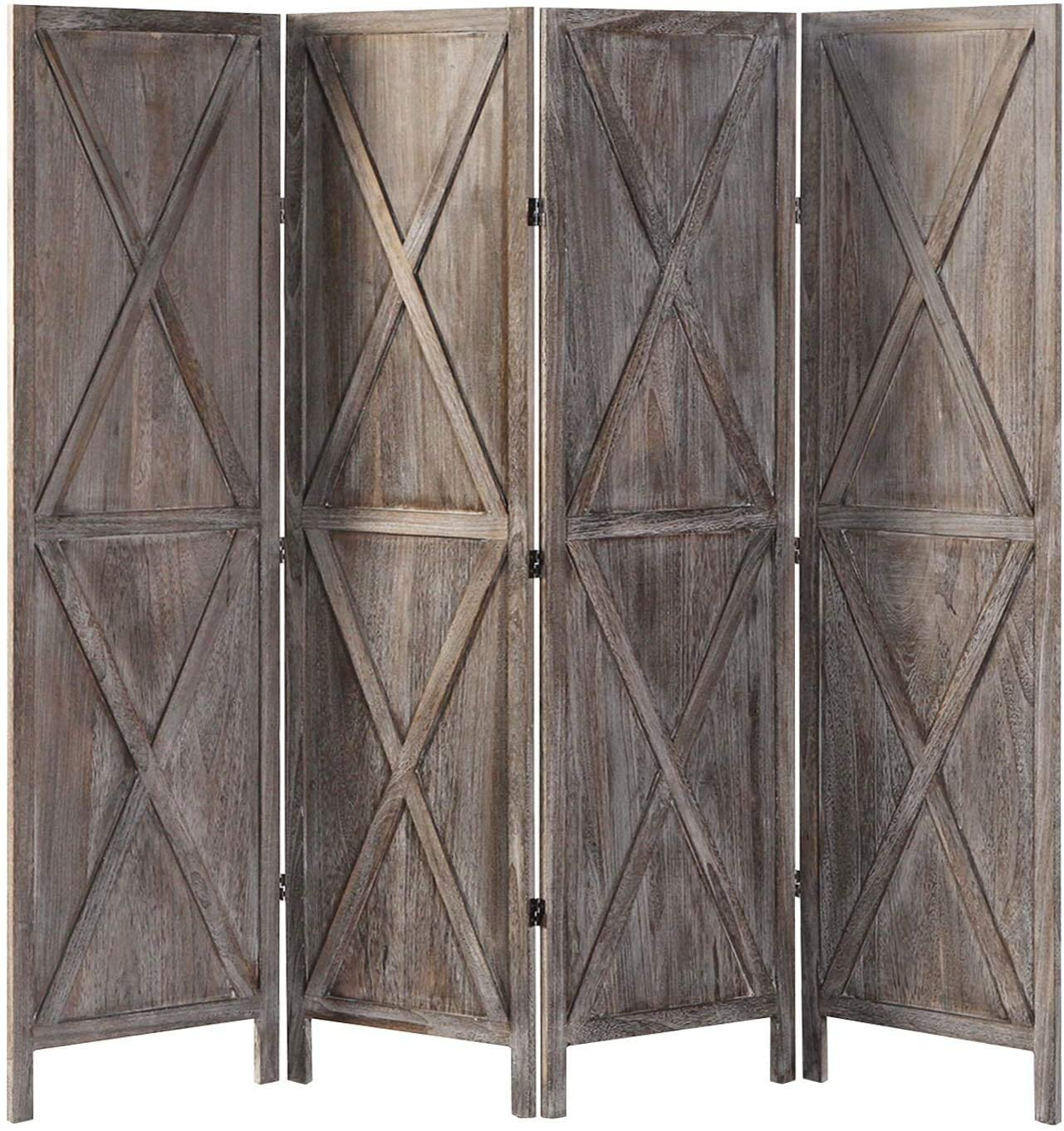 4 Panel Modern Farmhouse Room Dividers You Ll Love In 2021 Wayfair