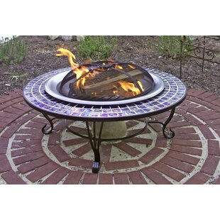 Corral Steel Wood Burning Fire Pit Table
