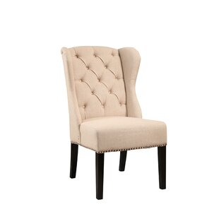 Tufted Wingback Dining Chair Wayfair