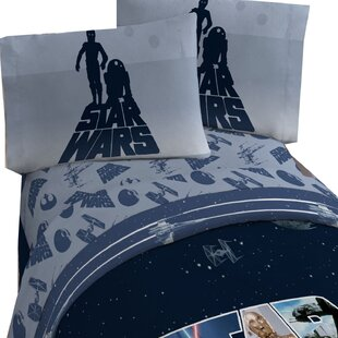 Star Wars Classic 4 Piece Sheet Set By Disney