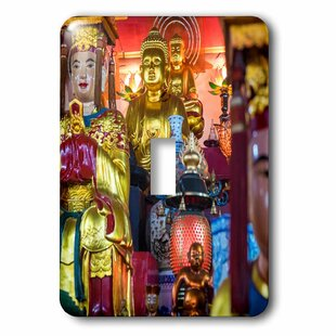 483633d6994 Buddhist Altar in Temple Hanoi Vietnam Socket Plate