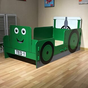 Tractor Junior Convertible Toddler Bed By Zoomie Kids