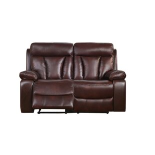 Lenny Power Reclining Loveseat by Red Bar..