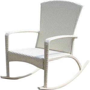 truesdell woven adirondack rocking chair