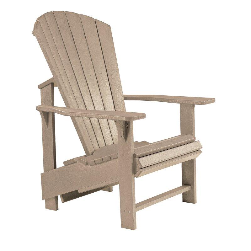 Generation Line Upright Plastic Resin Adirondack Chair Reviews Joss Main