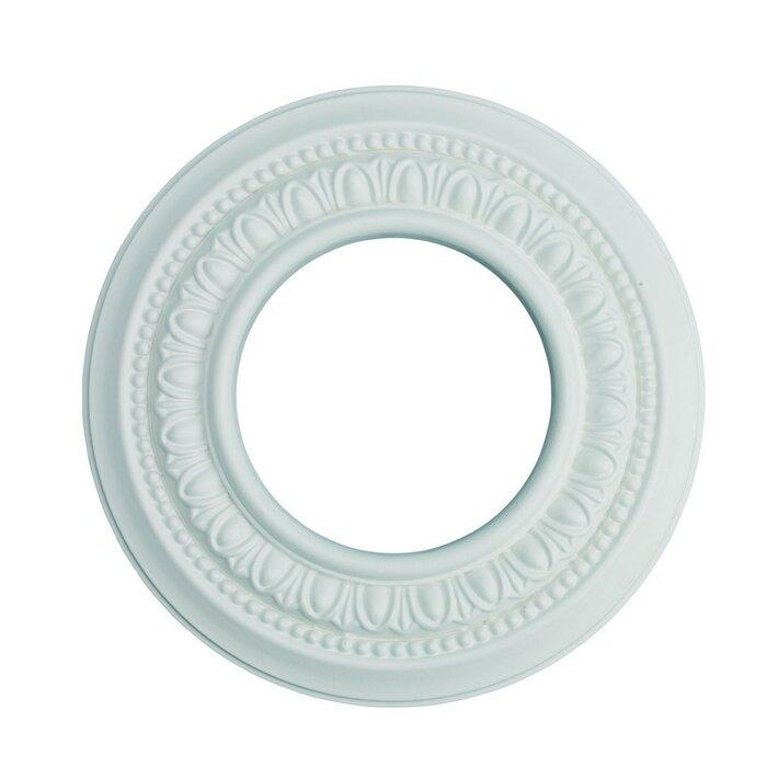 Spot Light Ring Ceiling Medallion Urethane Foam 4 Decorative Recessed Trim
