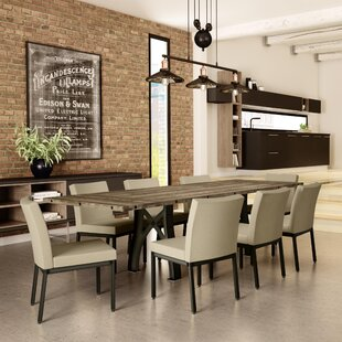 Everly 9 Piece Extendable Dining Table 17 Stories