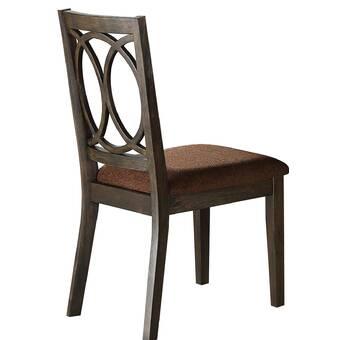 Astoria Grand Jaqueline Queen Anne Back Side Chair In Brown Cherry Wayfair