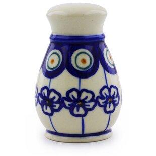 Polish Pottery Salt Shaker