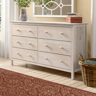 Dufrene 6 Drawer Double Dresser