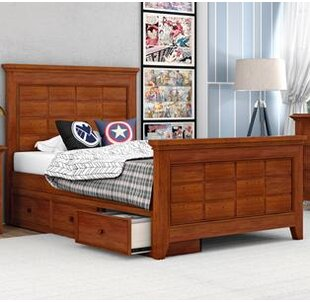 Poulan Platform Bed by Three Posts