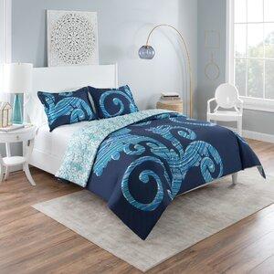 Liza Reversible Comforter Set