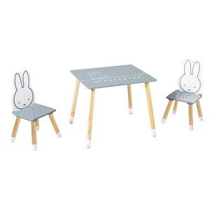 Miffy 3 Piece Children's Dining Set By Roba
