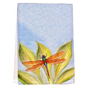 Ronald Dragonfly Hand Towel