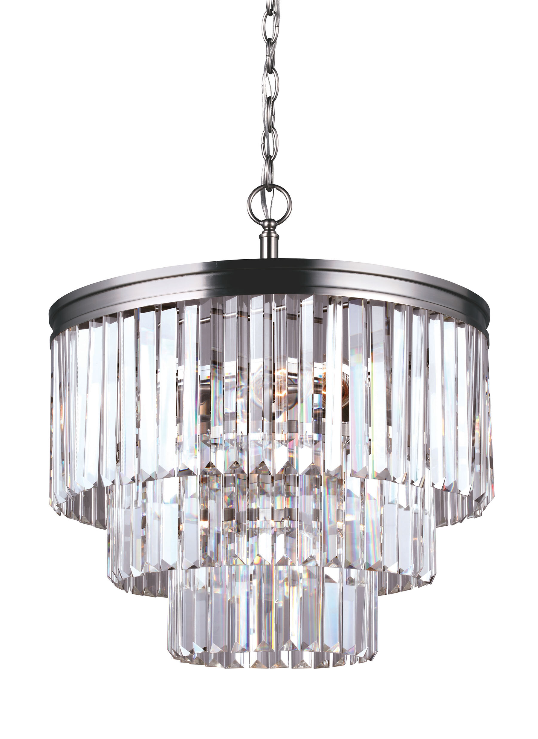 Modern & Contemporary Raindrop Crystal Chandelier