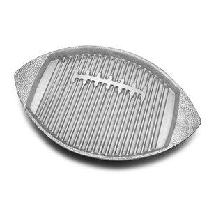 Football Non-Stick Grill Pan