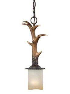 Loon Peak Port Chester 1-Light Cylinder Pendant