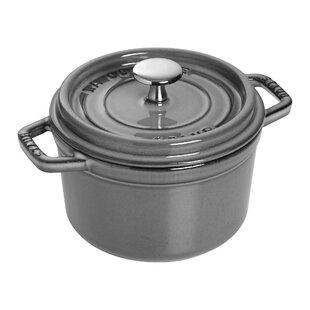 Staub Cast Iron 1.25 Qt. Round Dutch Oven