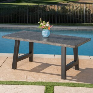 industrial patio tables youll love wayfair