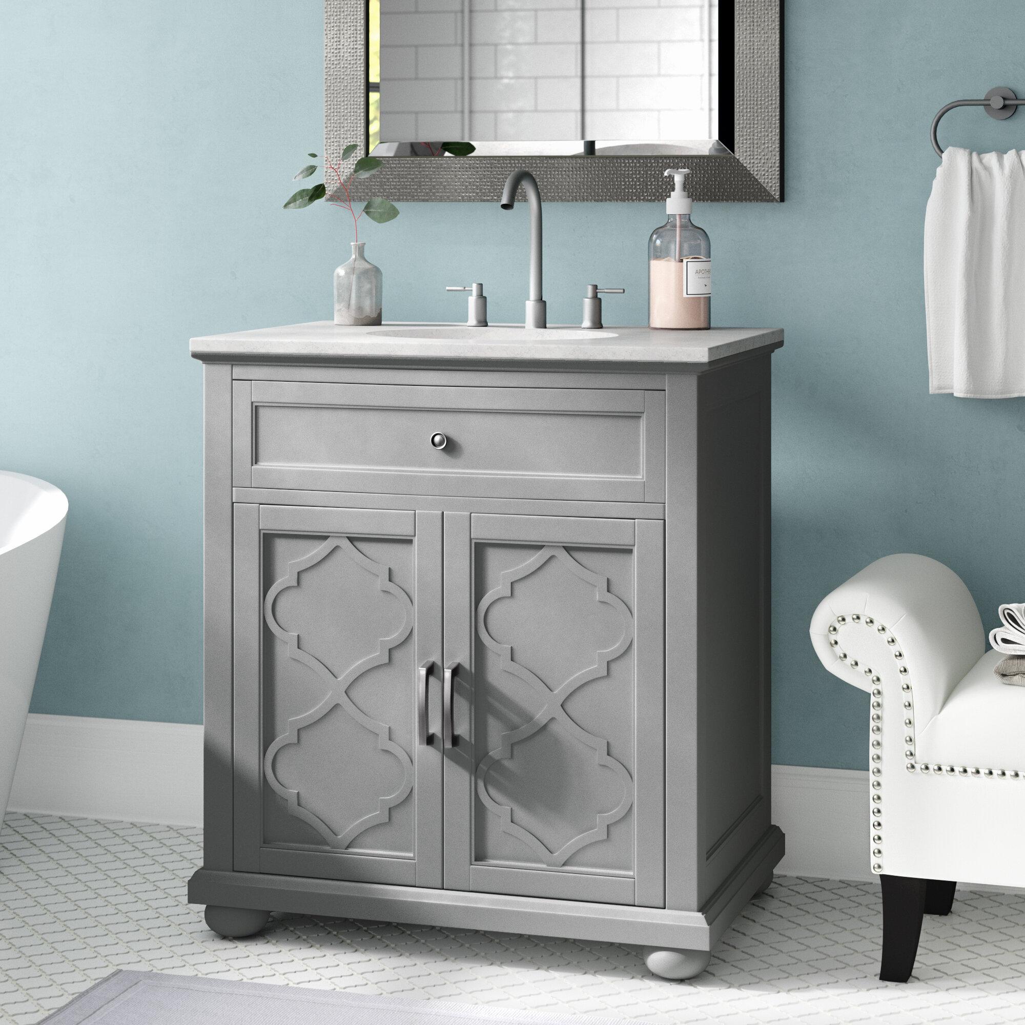 House Of Hampton Ali 31 Single Bathroom Vanity Set Reviews Wayfair