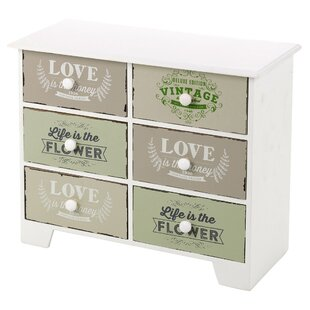 Nola 6 Drawer Chest By Brambly Cottage