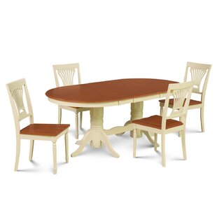 Inwood 5 Piece Carved Dining Set by Darby..