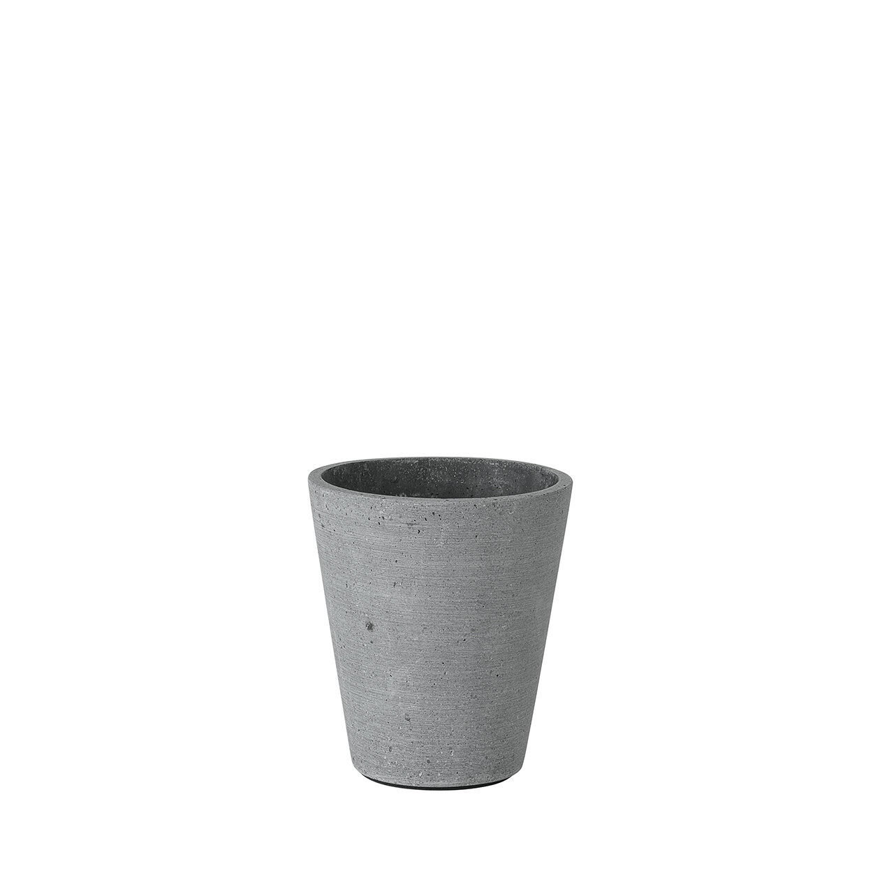 "Light Gray Large 11.41/"" inch Blomus COLUNA Vase Polystone w// Glazed Interior"