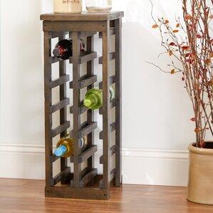 zanuck 12 bottle floor wine bottle rack - Wooden Wine Rack