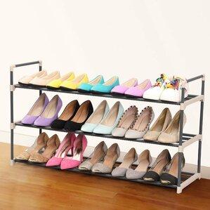 15 pair shoe rack