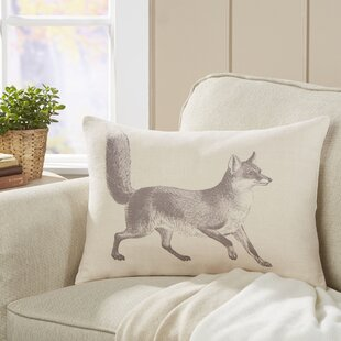 Meadow Fox Lumbar Pillow by Birch Lane™