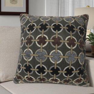 Contrary Circular Print Throw Pillow (Set of 2)