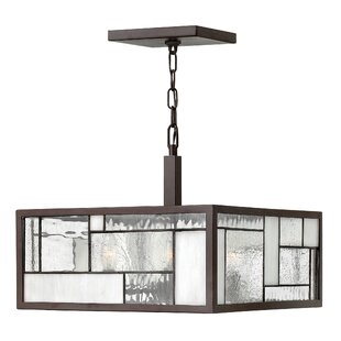Yoshida 4-Light Square/Rectangle Chandelier