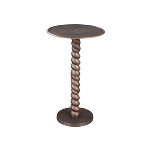 Cirencester Rope Twist End Table by Fleur De Lis Living