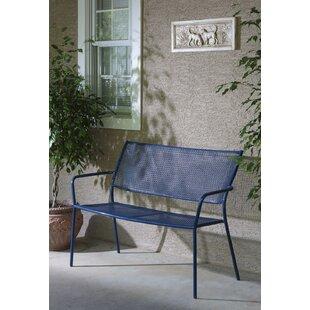 Latorre Wrought Iron Garden Bench by Brayden Studio