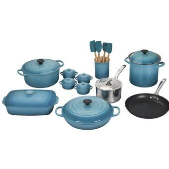 fdb68d3019e Le Creuset 20 Piece Cookware Set | Wayfair