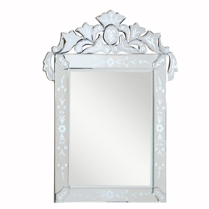 Glam Vertical Accent Wall Mirror