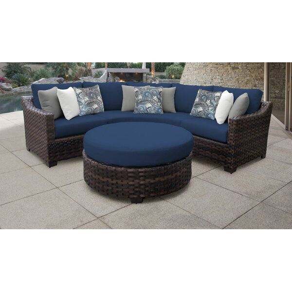 4 Piece Outdoor Sectional | Wayfair