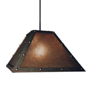 Beideman 1-Light Outdoor Pendant
