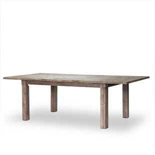 Mahon Butterfly Magnetic Extendable Solid Wood Dining Table Laurel Foundry Modern Farmhouse