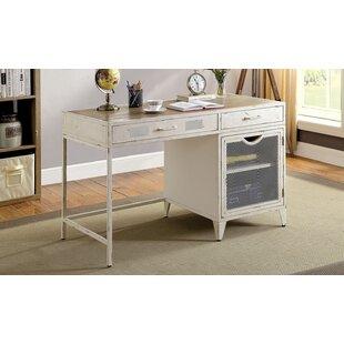 Earnestine Solid Wood Writing Desk by Williston Forge